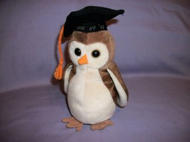 TY Beanie Babies Wise Owl Class of 1998 With Tush Tag Only - $2.48