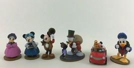 Disney Mickey's Christmas Carol 6pc PVC Toys Figures Minnie Mouse Donald... - $17.77