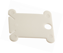 Darice White Plastic Floss Bobbins – Keep Thread Organized and Untangled... - $8.19+