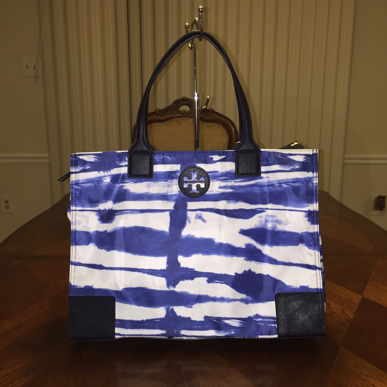 301be516b0e Nwt Tory Burch Ella Printed Packable Tote In and 31 similar items. S l1600