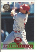 (SC-146) 1995 Fleer Ultra Gold Medallion ed. Baseball Card #417: Darren Daulton - $0.75