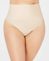 Maidenform Curvy Tame Your Tummy Plus Size Tailored Thong DM0053 (Nude, 4X) - $15.00