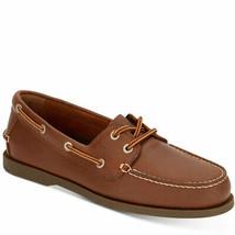 G.H. Bass & Co. Mens 2-Eye Asbury Boat Shoes Rust Dark Brown 8 MSRP 85 New - $66.42