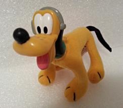 McDonalds 2001 House Of Mouse Pluto Soft Plush No 4 Disney Childs Toy - $2.99