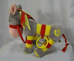 "Jellykitten Jellycat Donkey Horse 10"" Stuffed Animal Plush Rattle Chime Toy - $22.76"