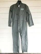 1986 Us Air Force Usaf Nomex Fire Resistant Flight Suit Green CWU-27/P - 42L - $123.75
