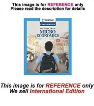 Principles of Microeconomics by N. Gregory Mankiw, Paperback 9th (ISE) - $69.90
