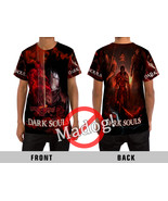 Cool! Dark Souls All Over Sublimation Print Unisex T-Shirt - $57.99+