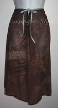 Gottex Swimsuit Cover-Up New Hermitage Mocha Half Wrap Sarong Pareo sz M... - $59.88
