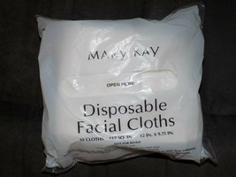 Mary Kay Disposable Facial Cloths Pack of 30 NEW - $17.82