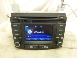 2012 2013 2014 Hyundai Sonata OEM Radio Single Cd Player 96180-3Q8004X FQT45 - $21.29