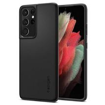 Spigen Thin Fit Designed for Galaxy S21 Ultra Case (2021) - Black - $27.99