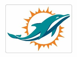 Miami Dolphins Sticker Decal S26 You Choose Size - $1.45+