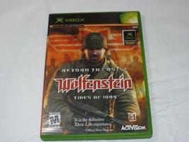 Return To Castle Wolfenstein: Maree Of War Microsoft Xbox 2003 Sparatutto - $16.03