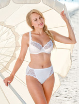 PANTIES LIGHT SHAPER MADE IN EUROPE HI WAIST FULL COVERAGE STRETCH L XL ... - $39.00