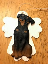 Rottweiler (Rotty) 3D Dog Christmas Angel Ornament Gift Holiday - $9.45