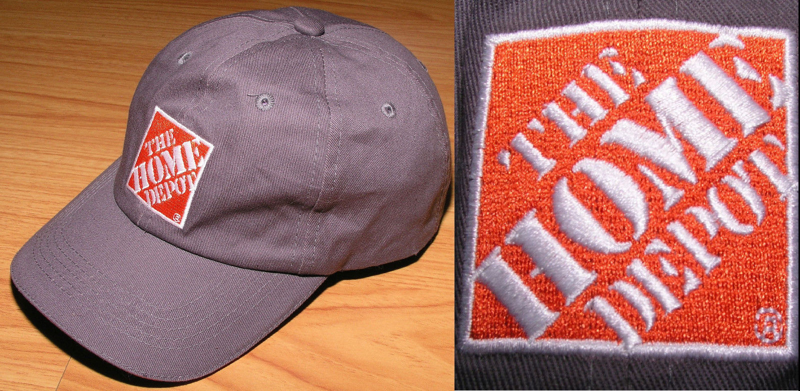 c19c0da568c Baseball Cap The Home Depot Logo Hat Cotton and 50 similar items