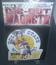 Tim Hardaway 1996 Chris Martin Ent. NFL Die-Cut Magnets Golden State War... - $2.96
