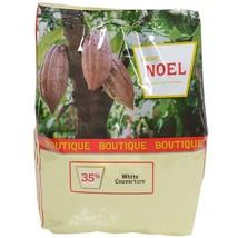 Noel White Chocolate Couverture Pistoles - 35%, Pembe - 4 bags - 4.4 lbs ea - $300.38
