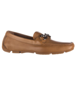 Salvatore Ferragamo Women's brown Leather Moccasins loafer US 9.5 - $791.01
