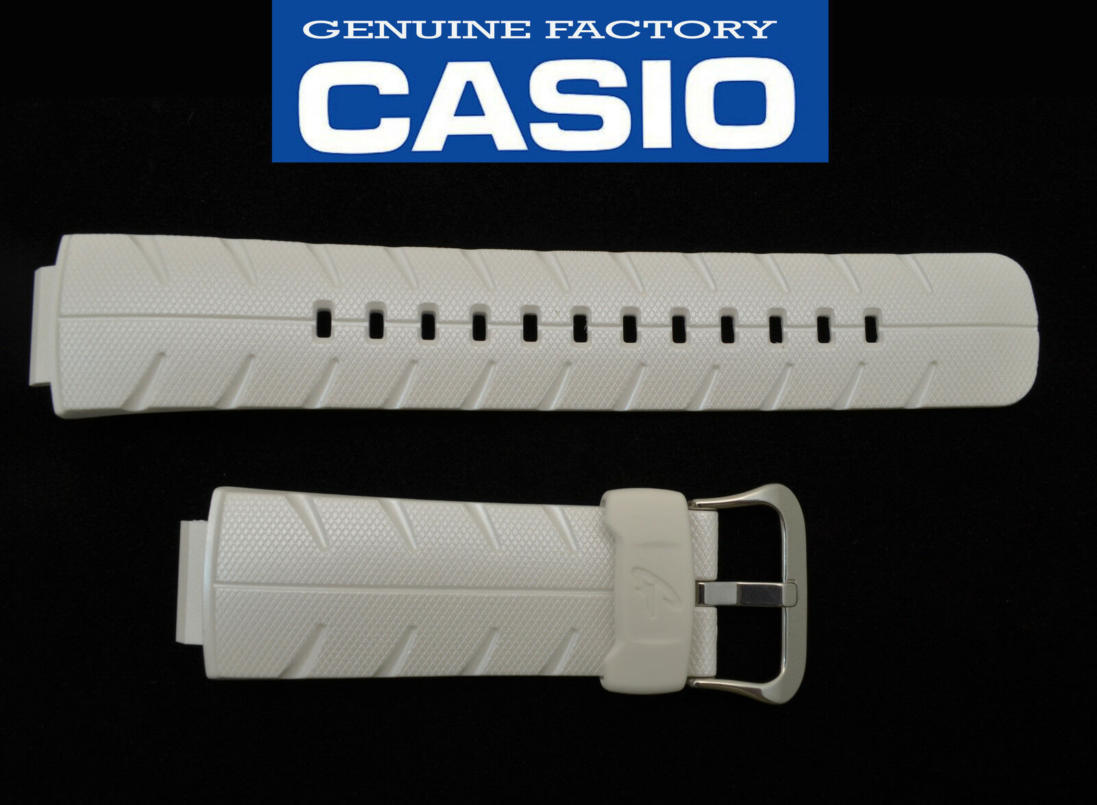 Primary image for Genuine CASIO 23mm WATCH BAND Strap ORIGINAL G-shock G-300LV G-300 PEARL WHITE