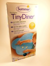 Summer Infant Tiny Diner Portable Placemat, Blue, OpenBox - $8.99
