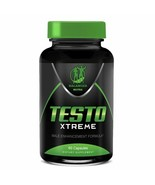 TESTO XTREME ANABOLIC STRONGEST TESTOSTERONE BOOSTER MUSCLE TRIBULUS PILLS - $35.72