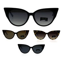 Womens Goth Designer Style Plastic Gothic Cat Eye Sunglasses - $13.02 CAD