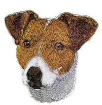 "Amazing [Jack Russell Dog Face] Embroidery Iron On/Sew patch [4"" x 4""][M... - $7.91"