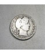 1913-P Silver Barber Quarter Coin AJ-576 - $26.06