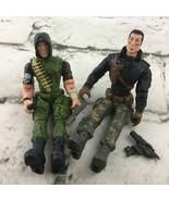 Lanard CORPS Elite Anti Division SLADE 'TROLL' BROZ Kenji Shinto Figures... - $11.88