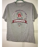 Majestic 2007 Boston Red Sox World Series Champions Trophy T Shirt XL - $11.99