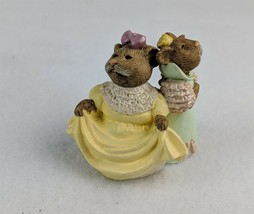 Hallmark 1995 Keepsake Ornament Bears in Dresses - $5.71