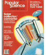 Popular Science June 1980, Robots That Think, Solar Collector, 81 Cars, ect.  - $5.99