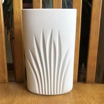 """Rosenthal Studio Line Germany 7 1/4""""  Tall Matte White Vase - $24.75"""