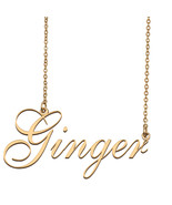 Ginger Custom Name Necklace Personalized for Mother's Day Christmas Gift - $15.99+