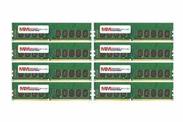 MemoryMasters 64GB (8x8GB) DDR4-2400MHz PC4-19200 ECC UDIMM 2Rx8 1.2V Unbuffered - $445.49