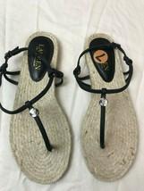 Lauren by Ralph Lauren Women's Makayla-ES-CSL Espadrilles Sandals-SIZE 7... - $37.36