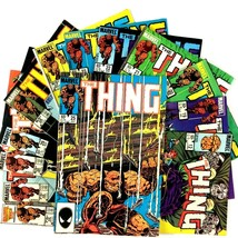 The Thing 13 Issue Comic Book Lot Marvel Copper Age The Beyonder Fantastic Four - $24.70