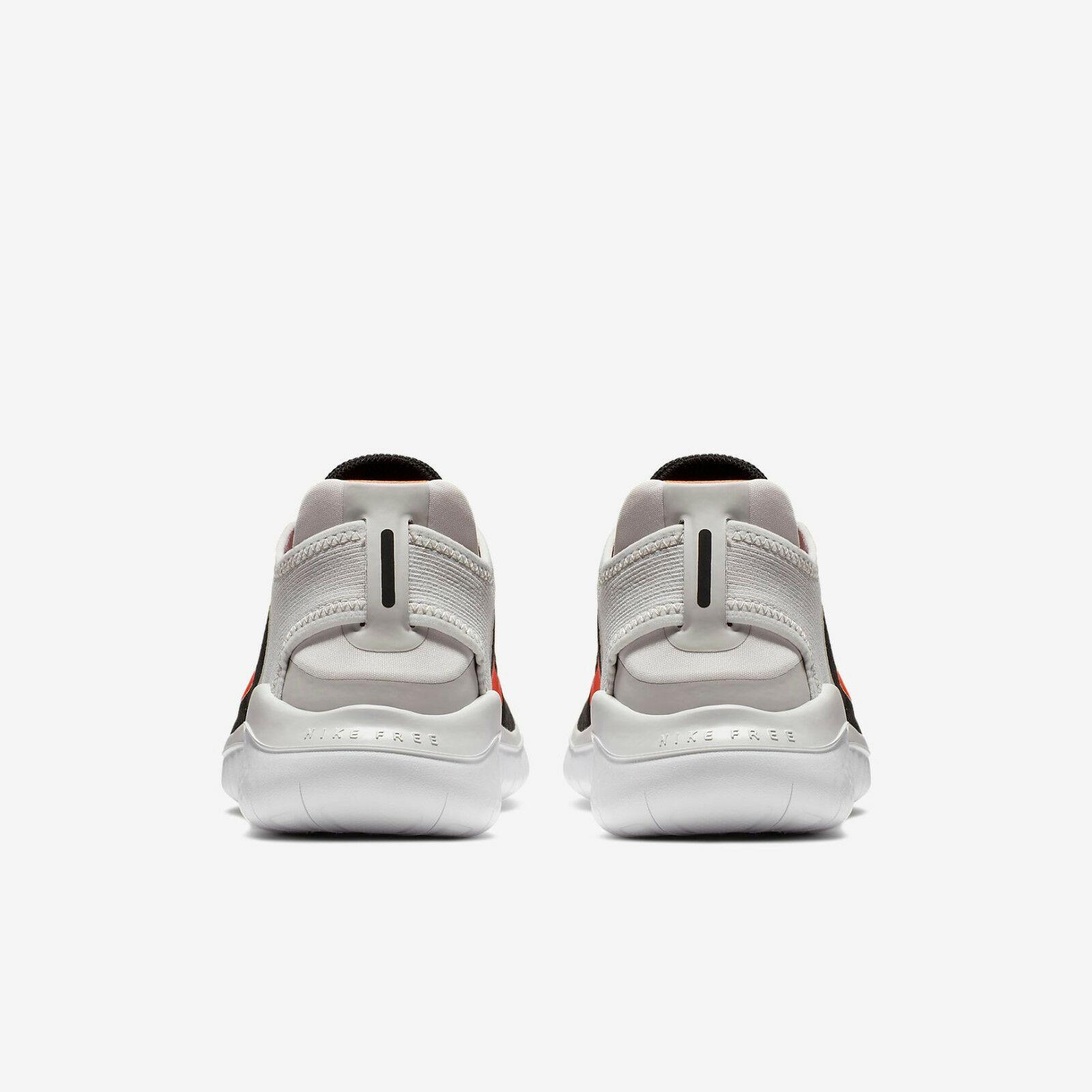 sale retailer 13874 922a3 HOMBRE Nike Free Rn 2018 Zapatos Negros Carmesí Gris 942836 005