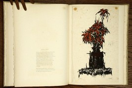 Art Book Woodcuts and Words L.S. Davidson Jr. & Roy Bailey Prints & Poetry - $218.25
