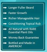Beard Farmer - Growther XT Beard Oil Extra Fast Beard Growth All Natural Beard G image 5