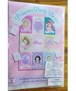 Disney Princess Party Bingo Game Favor Decoration Belle Cinderella - $8.86