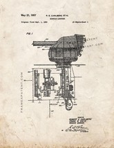 Missile Launcher Patent Print - Old Look - $7.95+