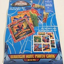 Hallmark Party Marvel Ultimate Spider Man Kids Party Scavenger Hunt Game... - $13.99