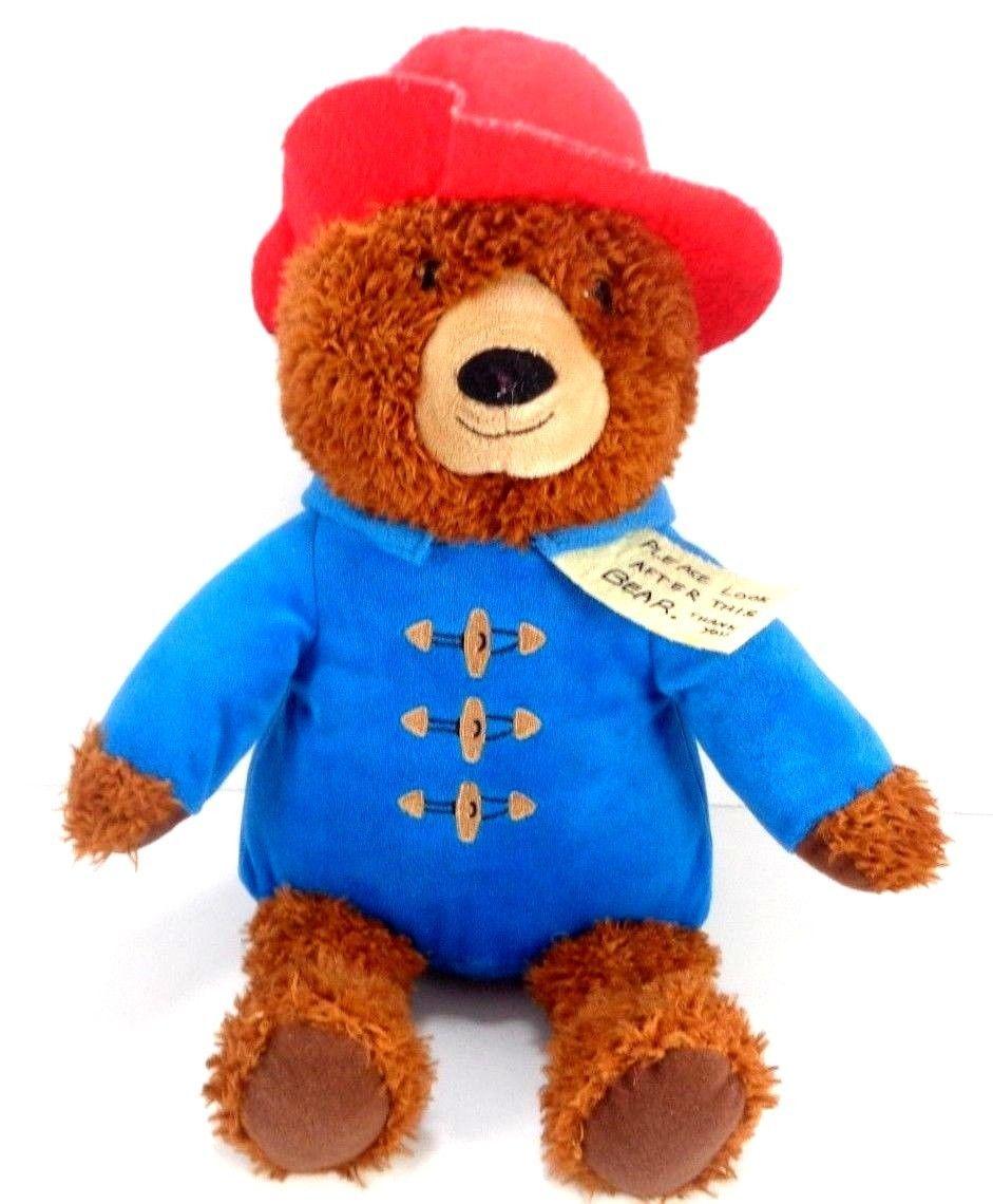 "Kohl/'s Cares for Kids PADDINGTON BEAR 14/"" Plush Stuffed Animal Toy NEW"