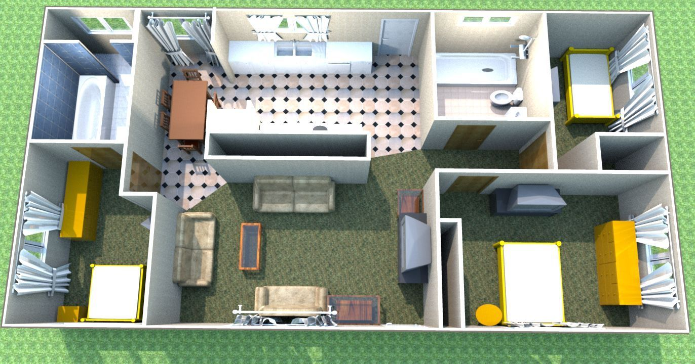 Deluxe 3d Cad Software Interior Design Suite And 50 Similar Items