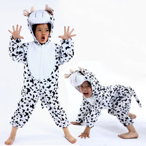 Halloween Child Cow Kids Animal Kigurumi Onesie Costume - $22.56