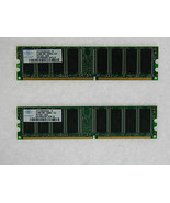1gb (2x512mb) Memoria per Gateway 500se 500xl 2.53g 510g E-2100 Thrasher... - $17.83