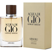 ACQUA DI GIO ABSOLU by Giorgio Armani #307924 - Type: Fragrances for MEN - $124.13